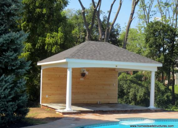14x18 Avalon Pool House