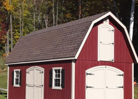 14' x 24' 2-Story Liberty Dutch Barn in Cheshire MA