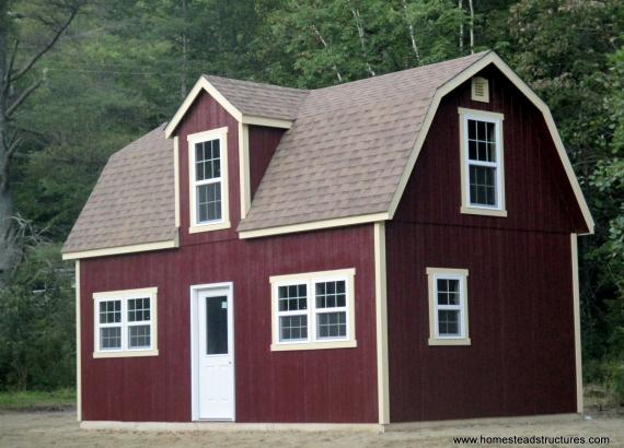 14' x 24' Liberty Dutch Barn in Lake PLeasant