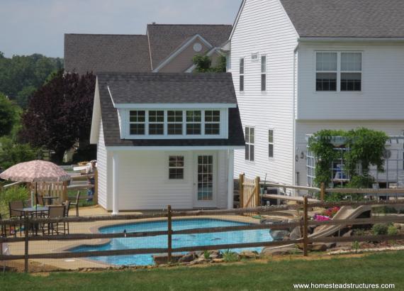 16 x 14 Heritage Pool House Liberty