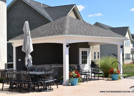 16' x 16' Avalon Pool House in Harleysville PA