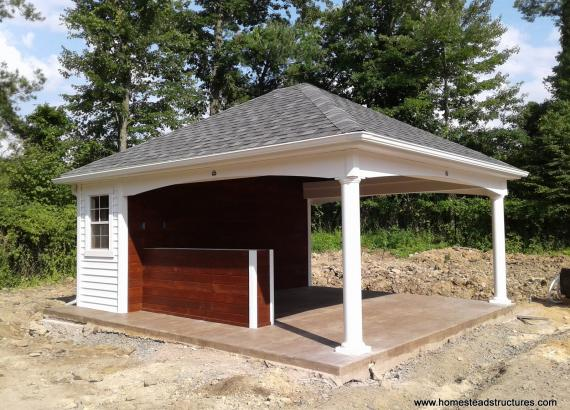 16' x 18' Avalon Pool House in Basking Ridge, NJ
