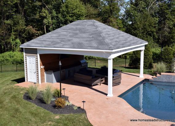 Royersford PA 16' x 24' Avalon Pool House