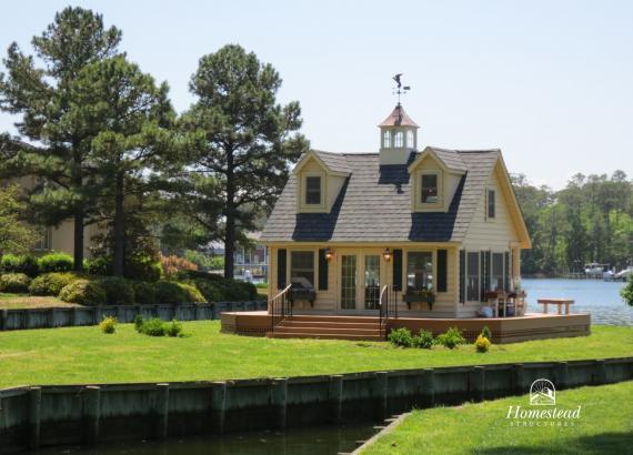 17' x 20' Heritage Liberty Pool House & Tiny Home