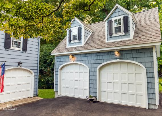 18' x 21' 2 Story 2 Car Garage in CT