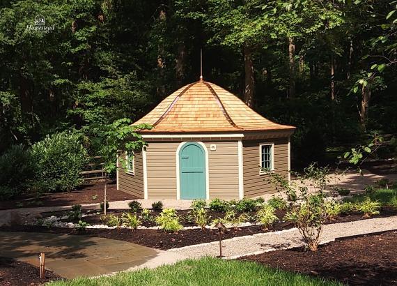 19' Garden Belle in Reading PA - Hexagonal Shed
