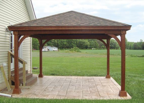 Keystone Pavilion on Patio