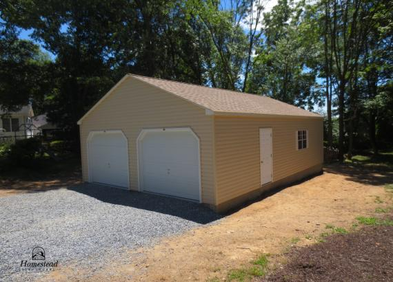 24' x 36' 2 Car Keystone Garage in MD