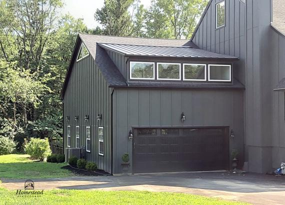 50' x 25' Custom 2 Story 2 Car Garage & Pool House Combo in PA