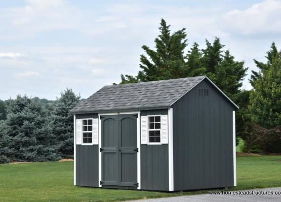 8' x 12' Keystone A Frame Shed with 7/12 roof pitch NY