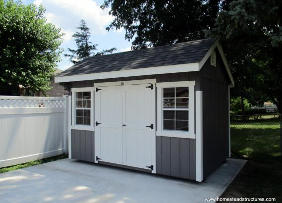 8' x 12' Laurel Quaker Shed in New Jersey