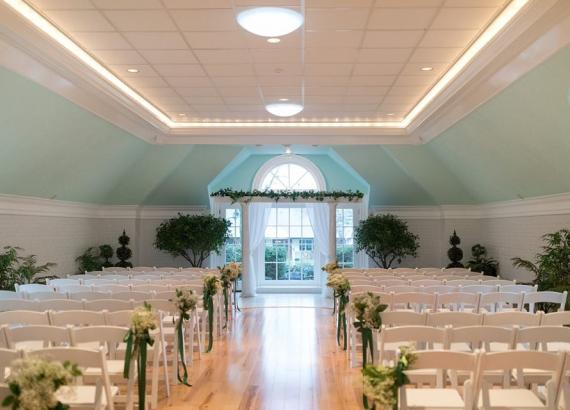 Interior of Drumore Estates - Carriage House Wedding Venue Lancaster, PA