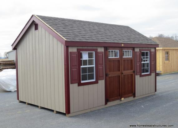 10' x 16' Laurel A Frame Shed (D-Temp Siding)