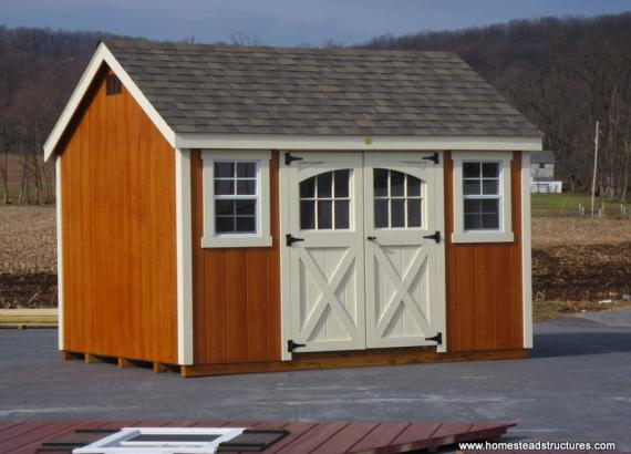 8 x 14 Laurel A Frame Shed (D-temp Siding)