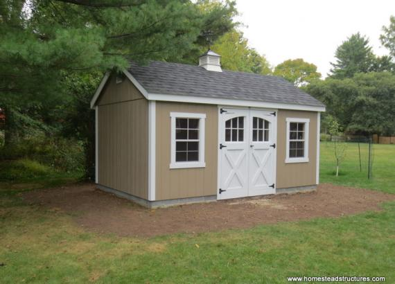 12' x 16' Laurel A-Frame Shed (D-temp siding)