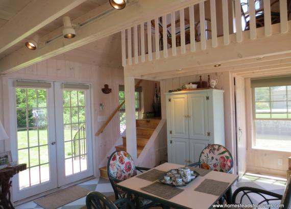 Heritage Pool House Interior