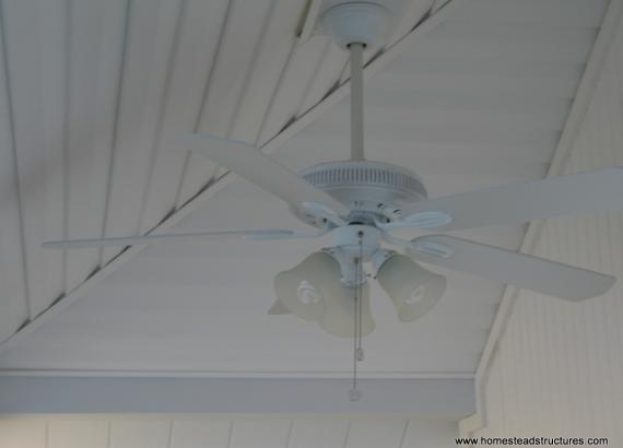 Siesta Poolside Bar Ceiling Fan