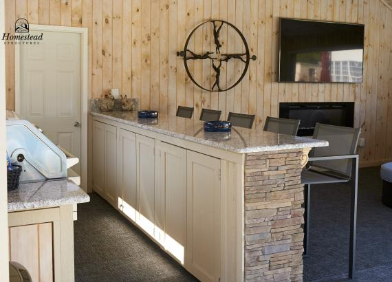 Outdoor Kitchen, Bar & Cabinets in Avalon