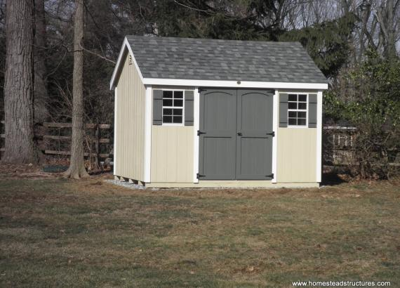 10' x 12' Laurel A-Frame Shed (D-temp Siding)