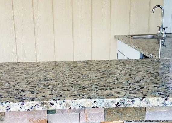 10x14 Custom Siesta with granite countertops