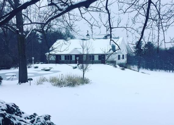 Drumore Estates - Snowy Carriage House Wedding Venue Lancaster, PA