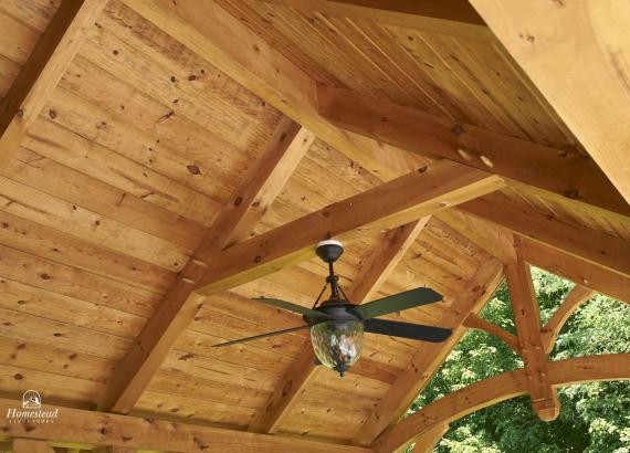 Timber Frame Rafters