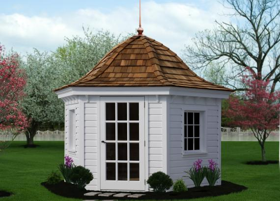 10' Homestead Garden Belle (German Pine Siding)
