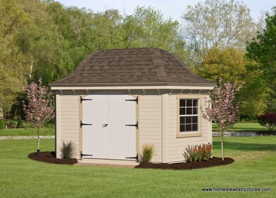 10' x 16' Homestead Garden Belle (D-temp Siding)