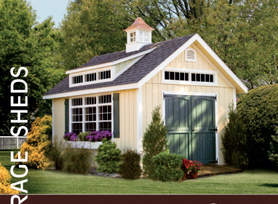 Shed brochure - Homestead Structures