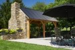 12' x 20' Timber Frame Pavilion