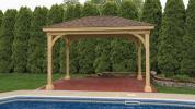 10 x 14 Keystone Wood Pavilion