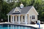 12x24 Heritage Liberty with vinyl shake siding