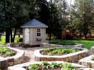 6' x 6' Classic Hip Garden Shed (Cypress Clapboard Siding)