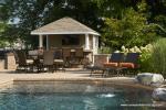 10' x 12'  Siesta Poolside Bar with Stone Veneer in Easton, PA