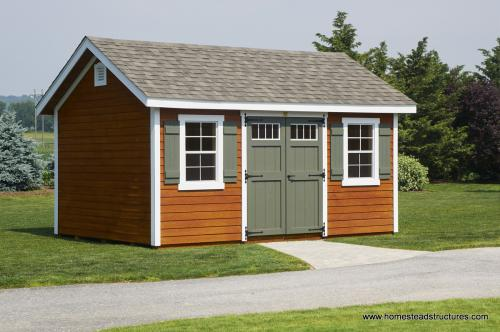 Amish Garden Sheds : Custom storage sheds for sale in pa garden amish