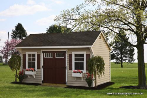 10 x 16 Laurel Quaker Shed