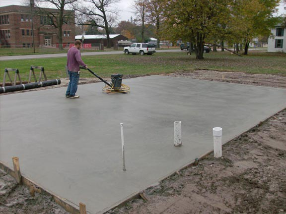 Choosing the foundation for your shed or structure for House slab foundation